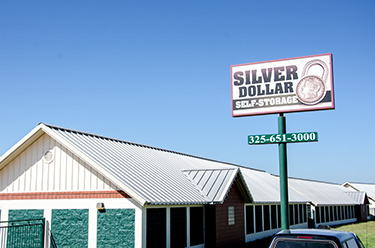 Gentil Silver Dollar Self Storage | San Angelo, TX | Home